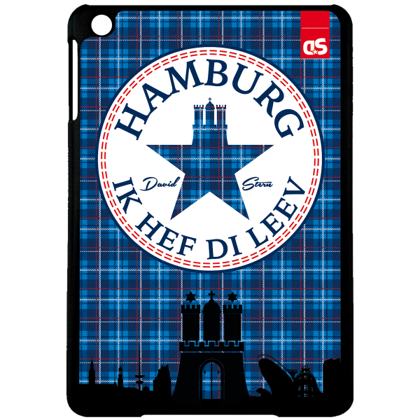 HAMBURG TWEED - iPad HardPlastic Case