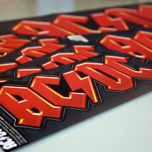 "AC/DC ""CLASSIC"" Outdoor Sticker"