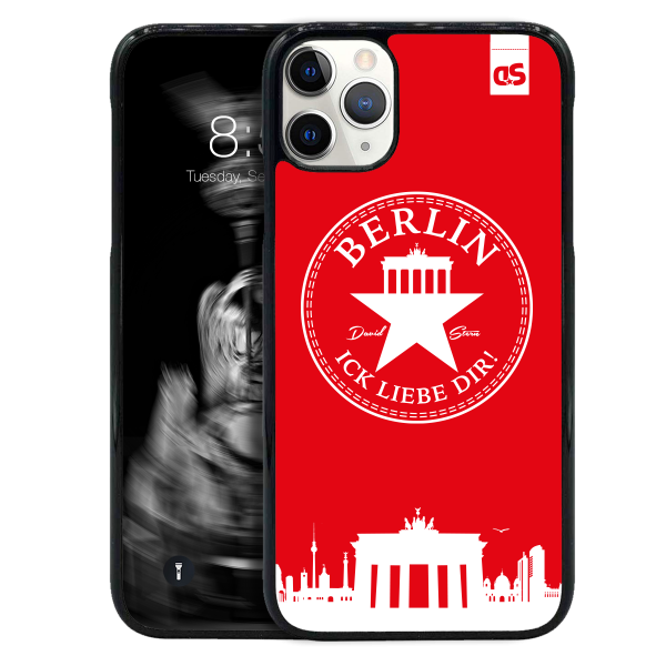 BERLIN ILD WhiteStar RED - HardPlastic Sleeve