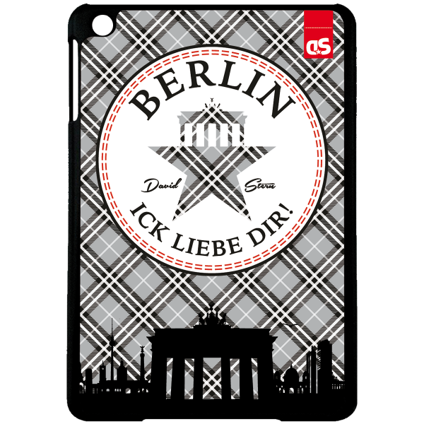 BERLIN KILT - iPad HardPlastic Case
