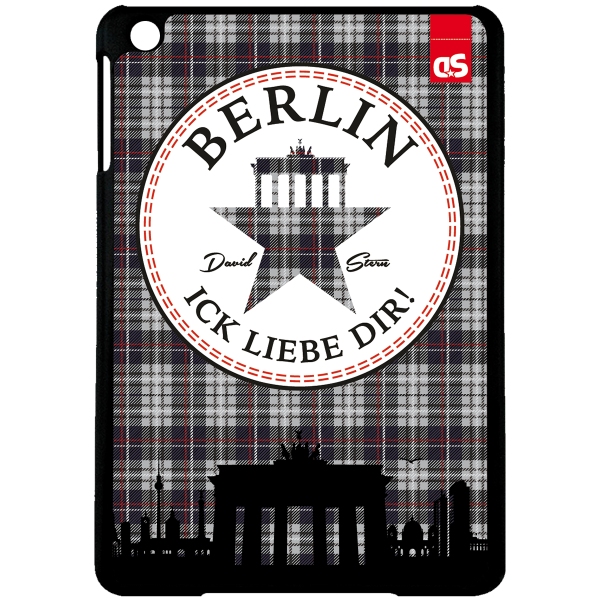 BERLIN TWEED - iPad HardPlastic Case