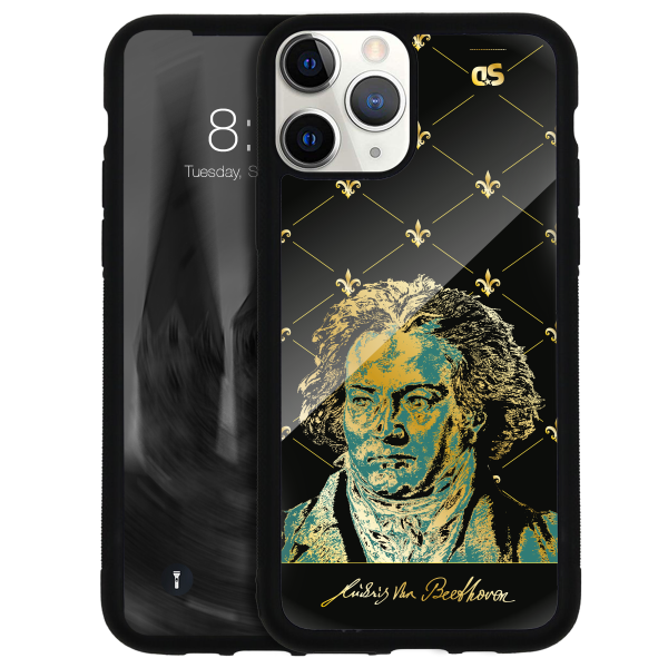 LUDWIG VAN BEETHOVEN I - Glass Cover
