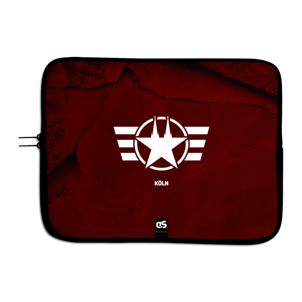COLOGNE FORCE RED - Universal Laptop Sleeve