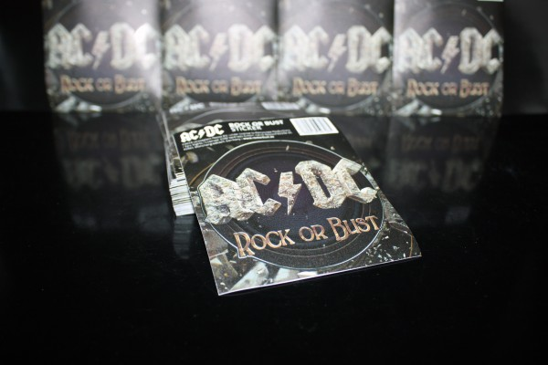 "AC/DC ""ROCK OR BUST"" Outdoor Sticker"