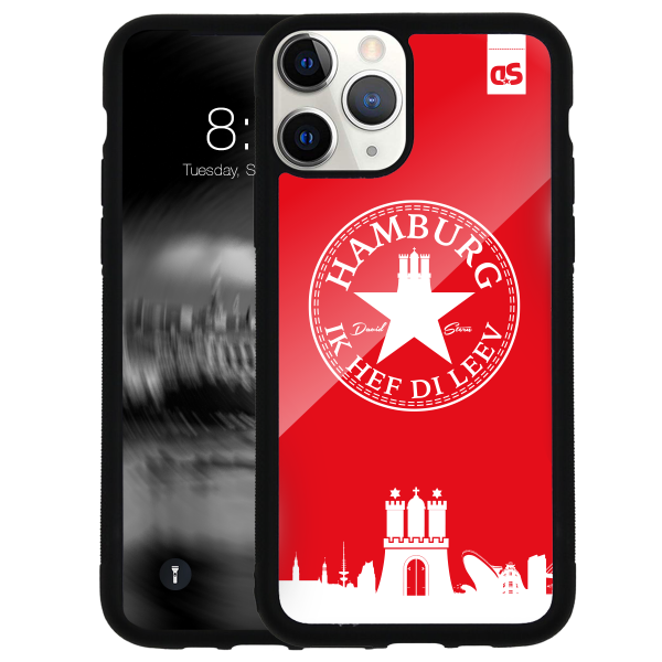 HAMBURG IHDL WhiteStar RED - Glass Cover