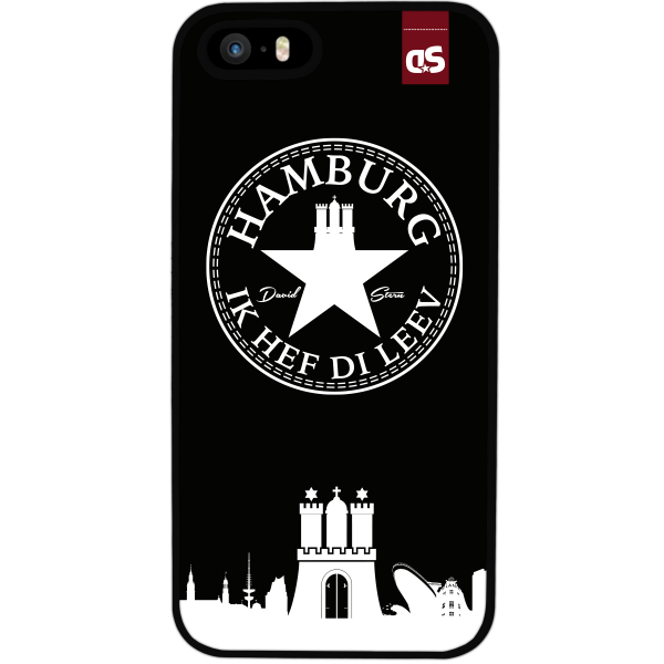 HAMBURG IHDL WhiteStar BLACK - Silikon Cover