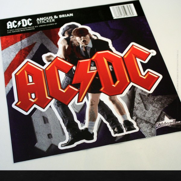 "AC/DC ""ANGUS & BRIAN"" Outdoor Sticker"