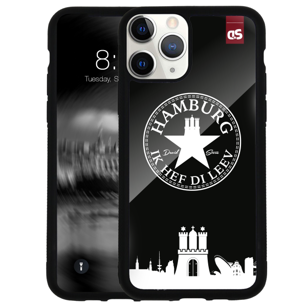 HAMBURG IHDL WhiteStar BLACK - Glass Cover