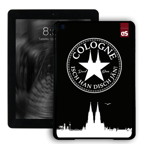 iPad HardCase IHDJ WhiteStar BLACK