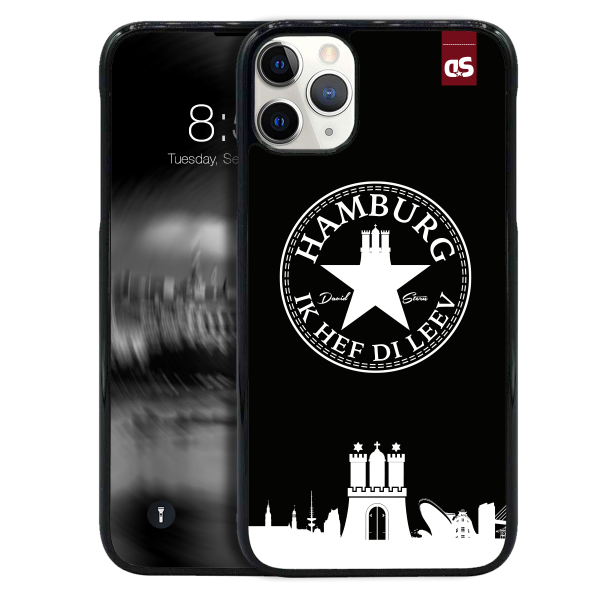 HAMBURG IHDL WhiteStar BLACK - HardPlastic Sleeve